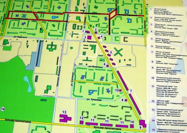 пешеходных связей 5 и 6